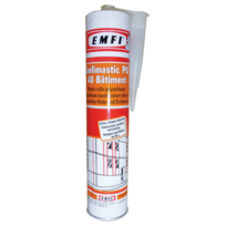 EMFI - Mastic Polyuréthane PU40 - Noir 300ml - 74063DE393