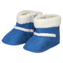 La Chaise Longue - Chaussons boots bleu mm