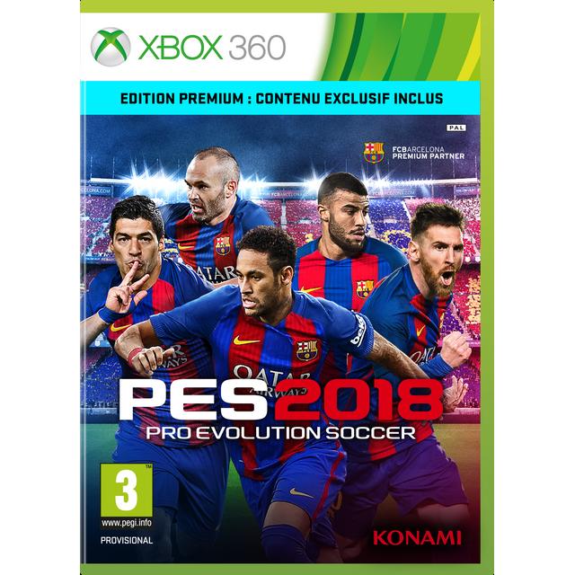Console Xbox 360 Carrefour: PRO EVOLUTION SOCCER 2018