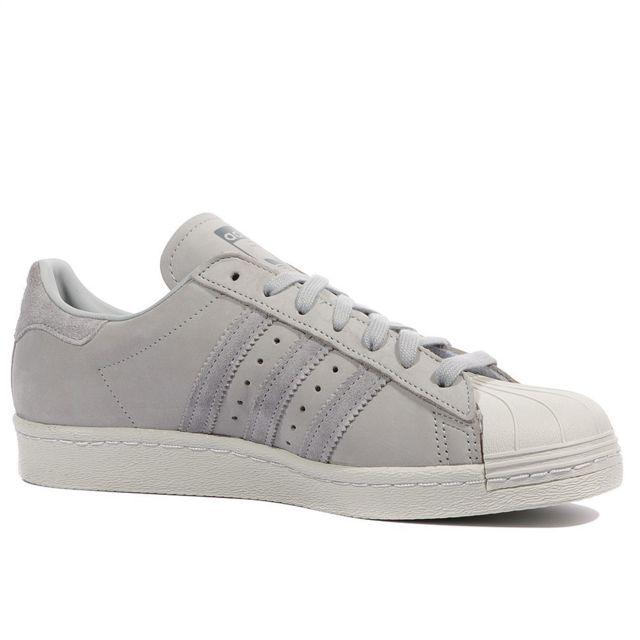 Superstar Homme Chaussures Gris Gris 40 23