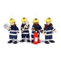 Tidlo - Pompiers De Jouets En Bois