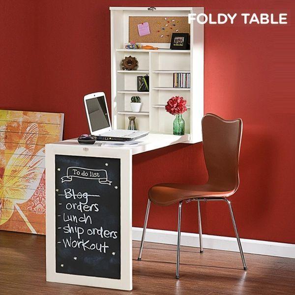 Rabattable Foldy W Bureau Table Mural QBoCdeExWr
