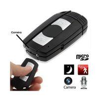 Yonis - Porte-clés caméra espion Hd 720P détection de mouvement Micro Sd