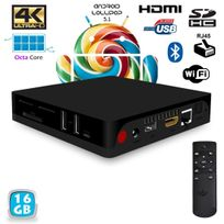 Yonis - Mini Pc Android Tv Box Passerelle multimédia 4K Octa Core 2Go Ram 16Go