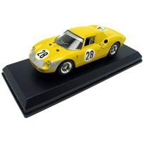 Best Model - 9166 - VÉHICULE Miniature - ModÈLE À L'ÉCHELLE - Ferrari 250 Lm - 1000 Kms De Paris 1966 - Echelle 1/43