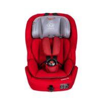 Kinderkraft - Siège auto bébé groupe 1/2/3 de 9-36 kg Safety Fix   Rouge