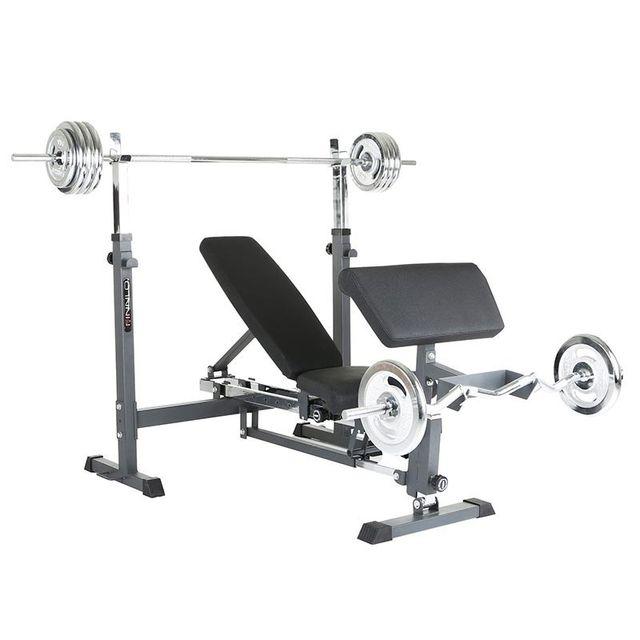 Finnlo-fitness - Banc de musculation multifonction Rexxus Finnlo by Hammer