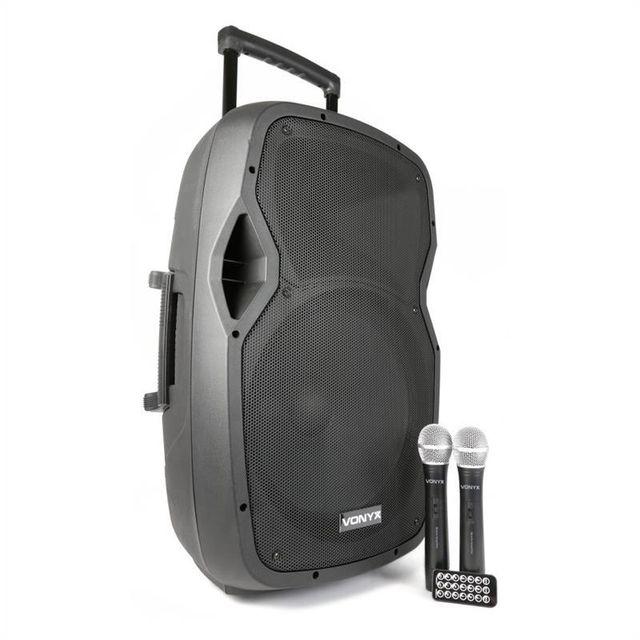 VONYX AP1500PA Sono portable 38 cm 15