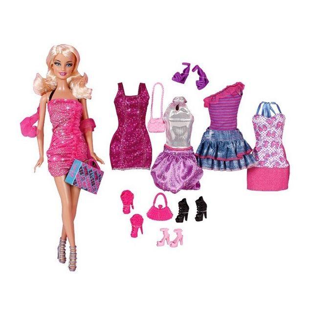 6d788dc46bf Barbie Mattel - Coffret Poupée Star de la mode