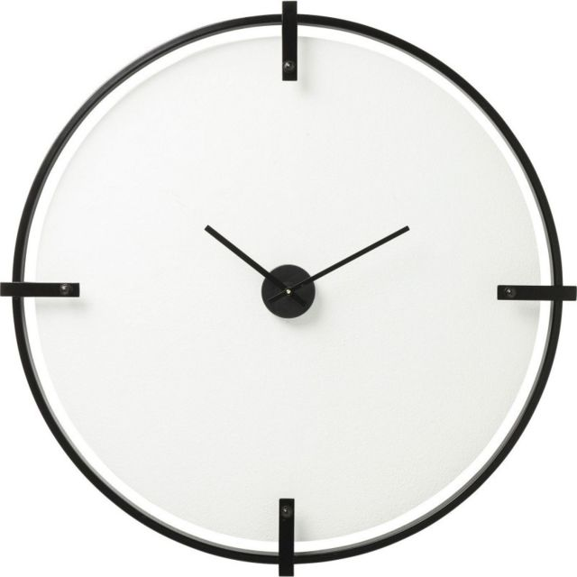 Karedesign Horloge Murale Visible Time 91cm Kare Design Noir Et