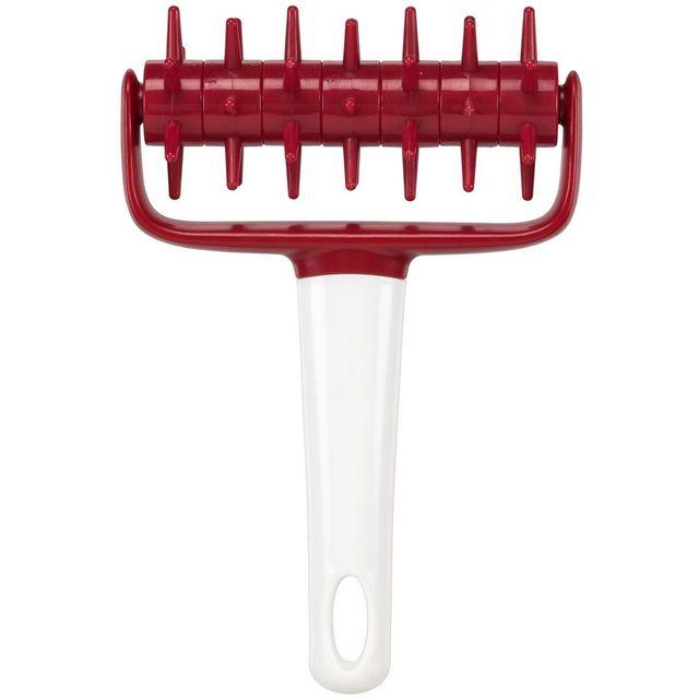 Promobo Aérateur De Pates Patisserie Gateau 17,5cm Rouge