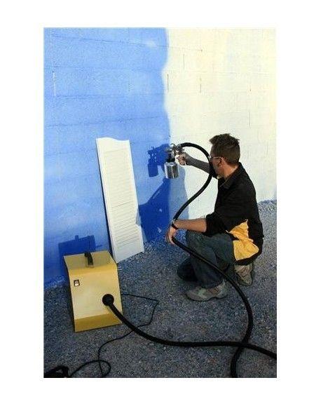 Builder - Pistolet Station Peinture Aeromax 4000 avec 2 pistolets métal