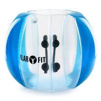 KLARFIT - Bubble Ball Football gonflable adultes 120x150cm PVC EN71P - bleu