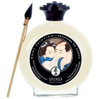 Shunga - Peinture pour le corps - Chocolat Blanc vanille - 100ml