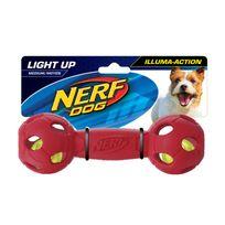Nerf Dog - Balle haltère Led - 18 cm