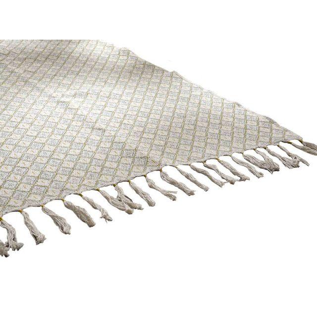 Amadeus Tapis 100% coton motif bohème Lina - 80x120cm