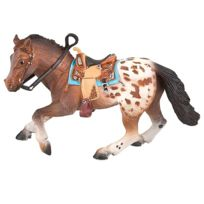 Bullyland - Figurine Cheval Appaloosa : Etalon