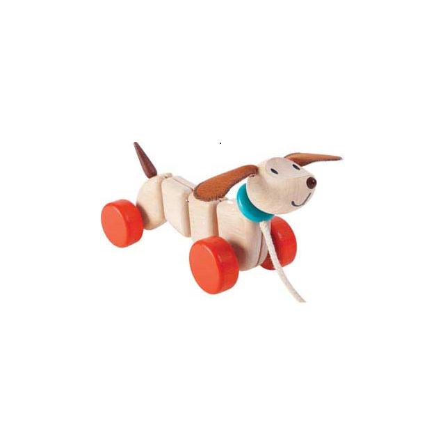 Plan Toys Teck le petit chien à tirer