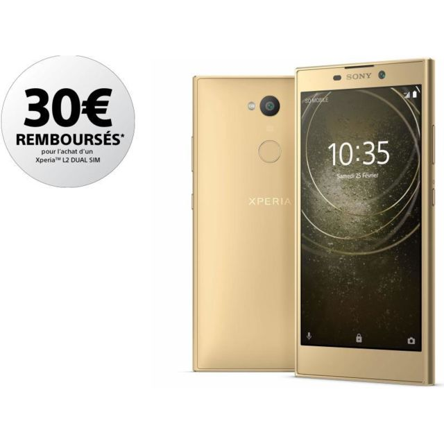 SONY Xperia L2 - Double SIM - Or