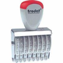 Trodat - 1548 Tampon numéroteur 8 chiffres Import Allemagne