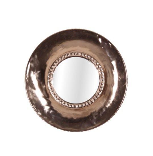 IntÉRIEUR Discount Miroir D.32cm, cuivré Alba