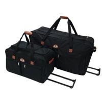 Utopia - BiBrown - Set de 2 sacs de voyage à roulette - Petit/Grand