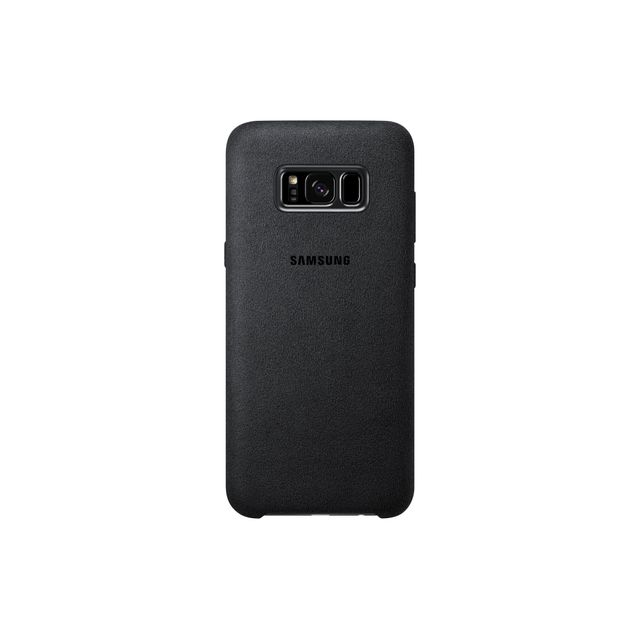 Samsung Alcantara Case Galaxy S8 Plus - Noir