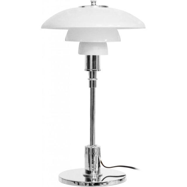 Privatefloor Lampe Ph 3/2 - Poul Henningsen acier