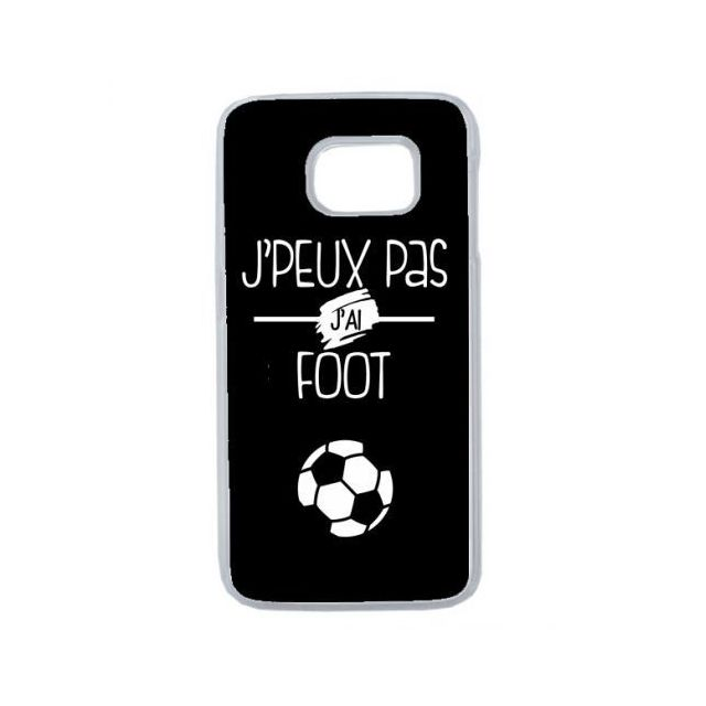 coque galaxy s6 edge foot