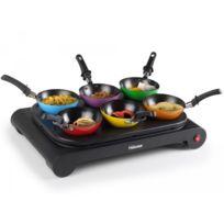 Tristar - Set wok 6 woks colorés - Plaque chauffante et Crêpes Bp-2827