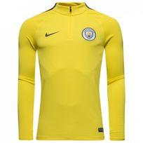 Nike - Maillot d'entraînement Manchester City Drill Top 1/4 - 809683-741