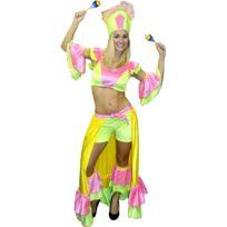 Marque Generique - Costume danseuse brésilienne pailletté