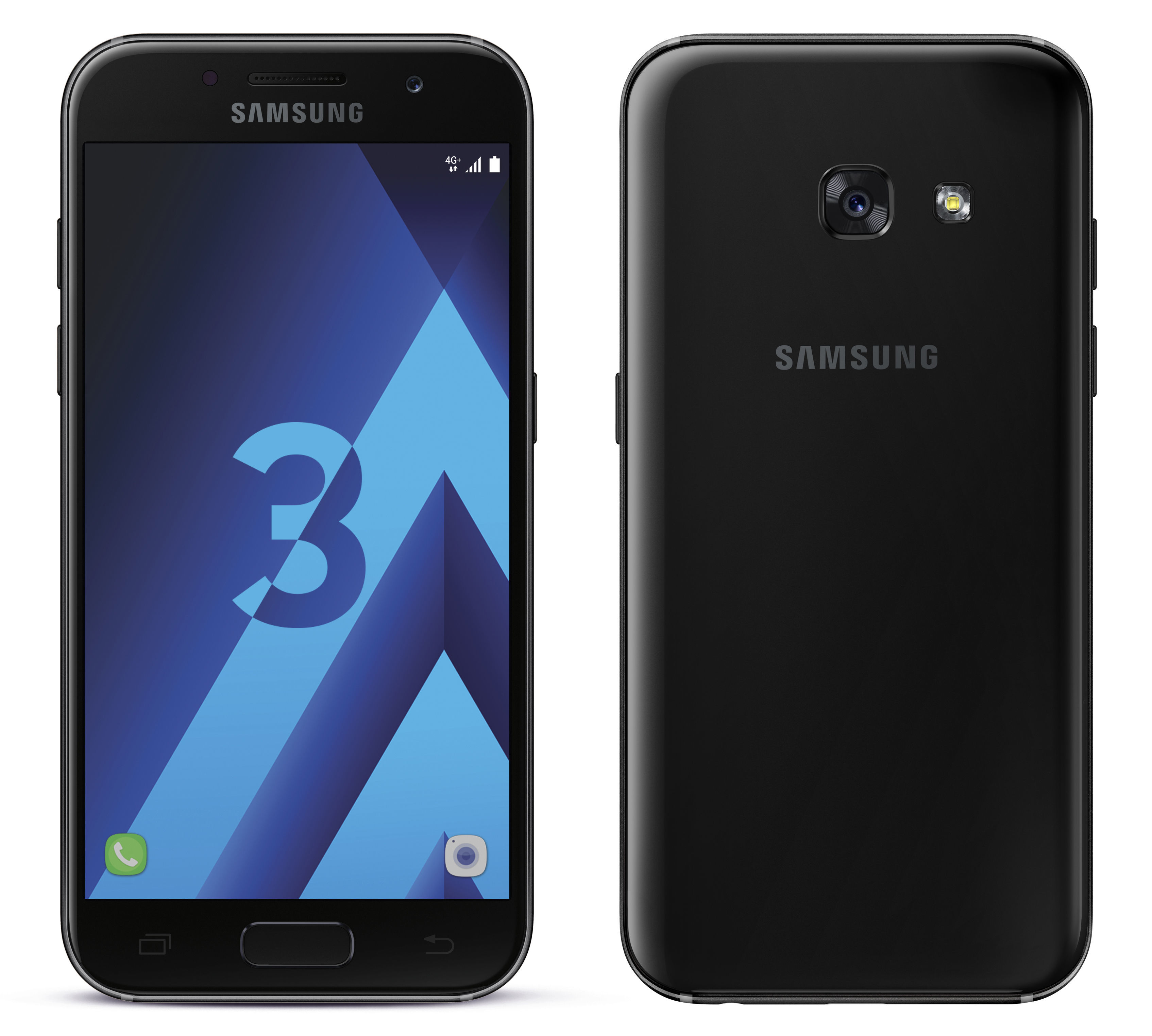 Galaxy A3 2017 Noir