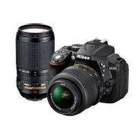 NIKON - appareil photo reflex - d5300 double kit 18-55 70-300