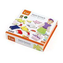 New Classic Toys - 0617 - Jouet De Premier Age - Jeu MagnÉTIQUE - VÊTEMENTS De Fille