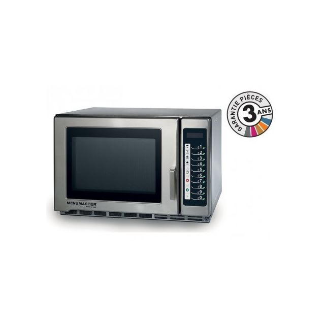 Menumaster Four micro-onde professionnel - 34 L - 1800 W - Rfs518TS