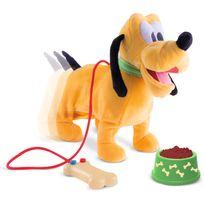 Imc Toys - Mickey - Peluche promène Pluto - 181243