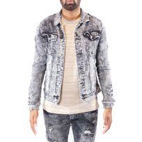 Veste jean couleur homme