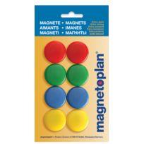 Magnetoplan - Aimants de signalisation - 30 mm - 8 pièces - couleur assorti