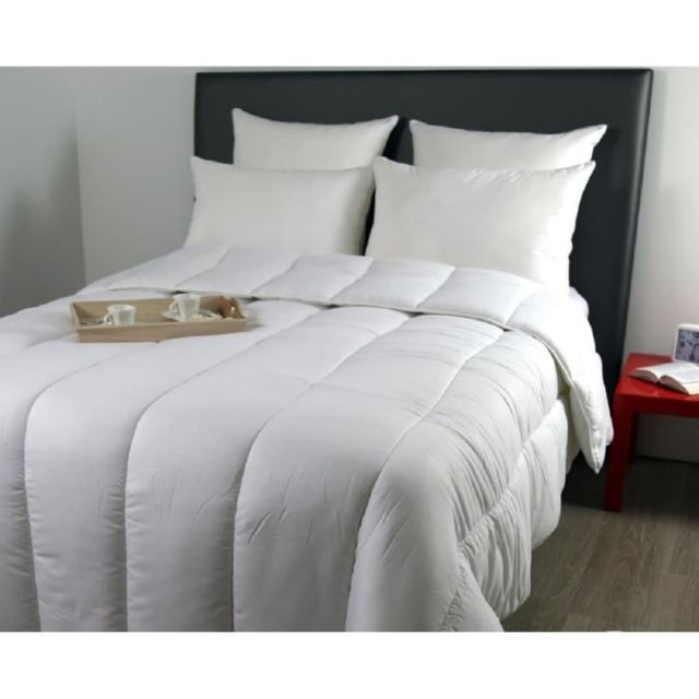 No Name Couette Couette Chaude 400grm² Country 200x200 Cm Blanc