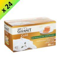 Gourmet - Gold Les Terrines pour chat 4 x 85g -24