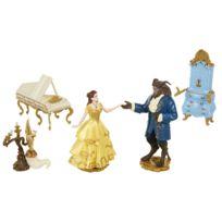 JAKKS PACIFIC - BELLE ET LA BETE Set de figurine de collection