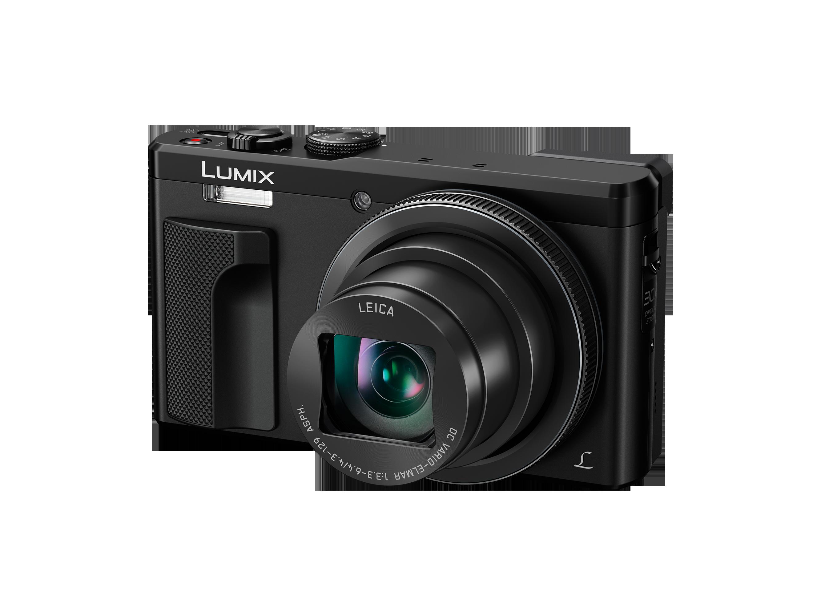 Appareil photo numérique Lumix DMC-TZ80 Panasonic Noir