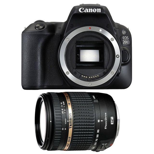 Canon Eos 200D + Tamron Af 18-270 f/3.5-6.3 Di Ii Vc Pzd IF, Garanti 3 ans
