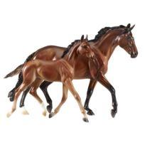 Breyer - 1474 - Figurine - Animal - Coffret Cheval Valentine Avec Poulain