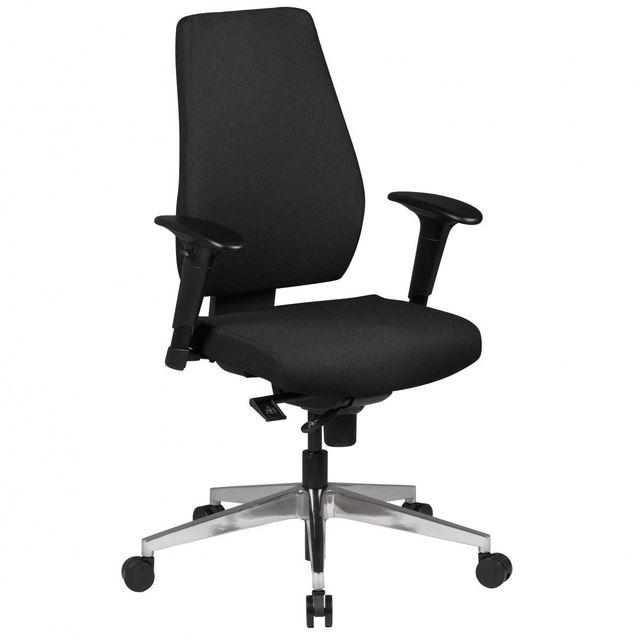 Comforium Chaise De Bureau En Tissu Réglable En Hauteur Coloris