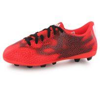 Adidas performance - F5 Fg rouge, chaussures de football enfant