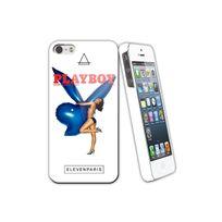 Eleven Paris - Coque Playboy Blue Balloon Toucher Gomme Iphone 5/5s