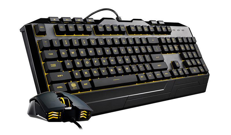 Pack Gaming Clavier et Souris DEVASTATOR III RGB