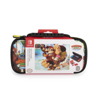 BIGBEN INTERACTIVE - Bigben Interactve - Pochette officielle Nintendo Donkey kong pour Nintendo Switch 2 boitiers de rangement pour 4 jeux 2 boitiers de rangement pour 2 cartes MICRO SD